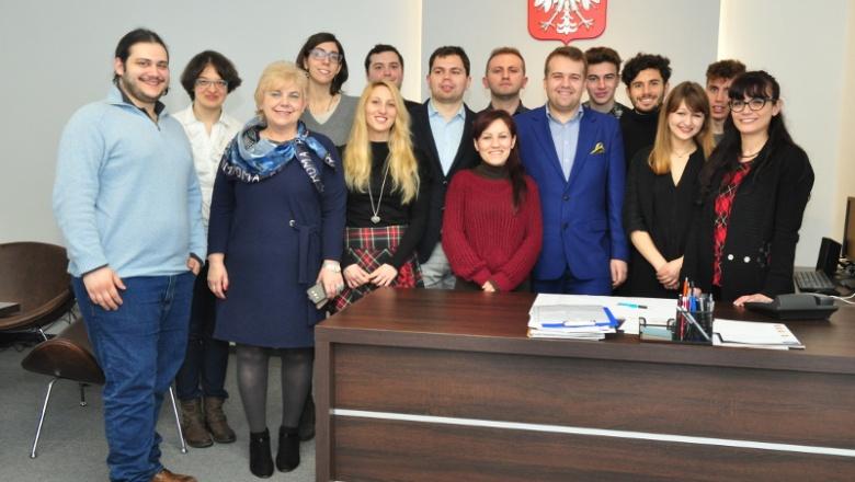 Włoska delegacja z wizytą u prezydenta