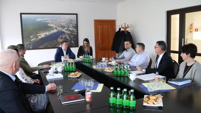 Spotkanie prezydenta miasta z przesdiębiorcami